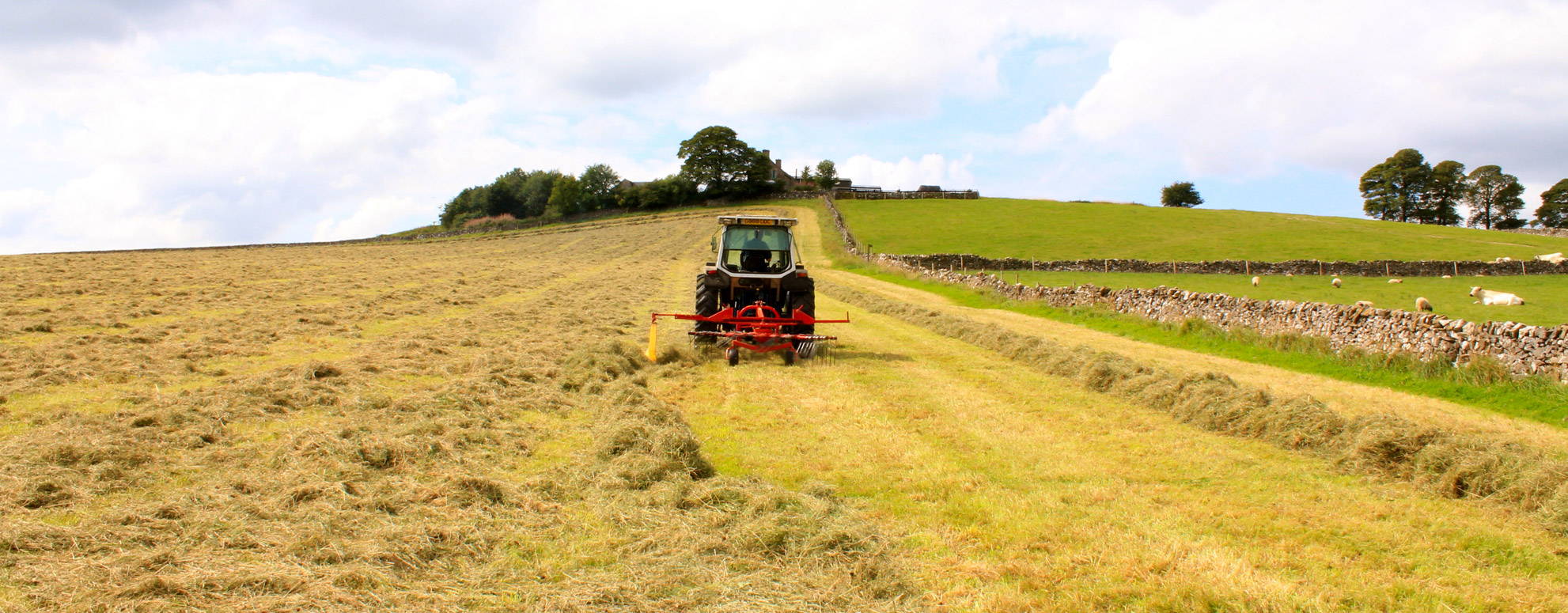 Broad Ecton Farm Hay Making